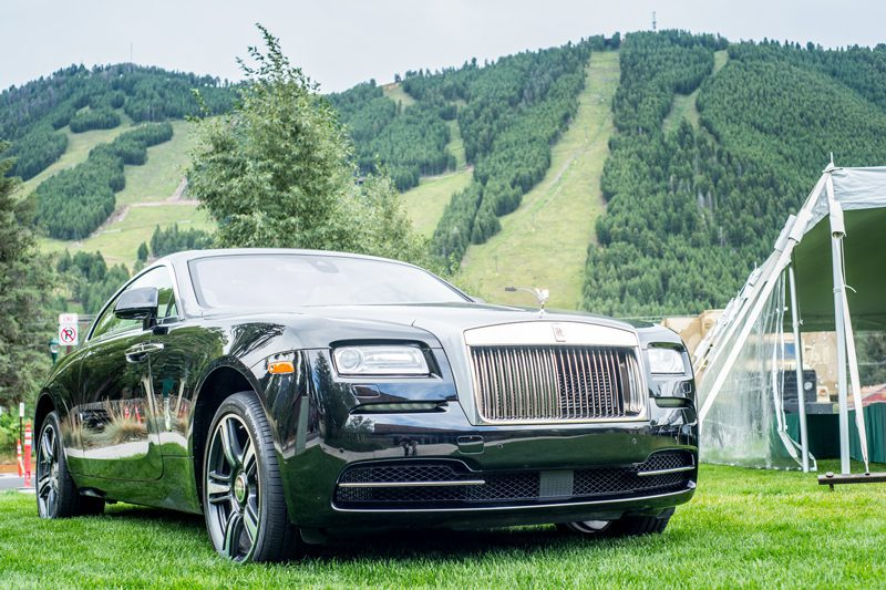 Rolls Royce, one of the many event sponsors
