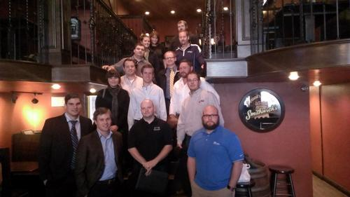 YPE networking lunch in Bismark, N.D.Photo Courtesy of YPE