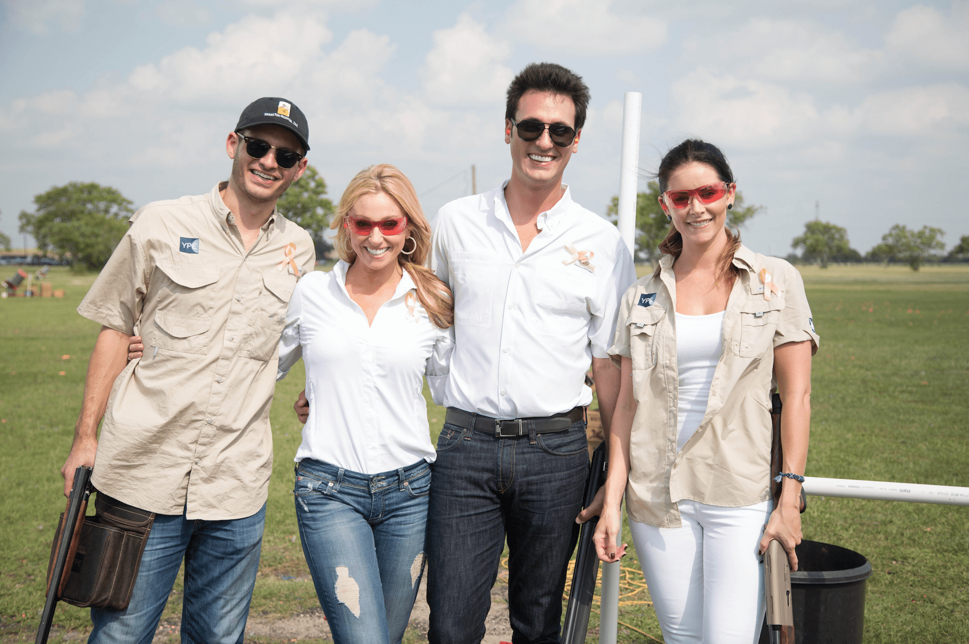 YPE Houston Clay Shoot for a Cause.Photo Courtesy of YPE