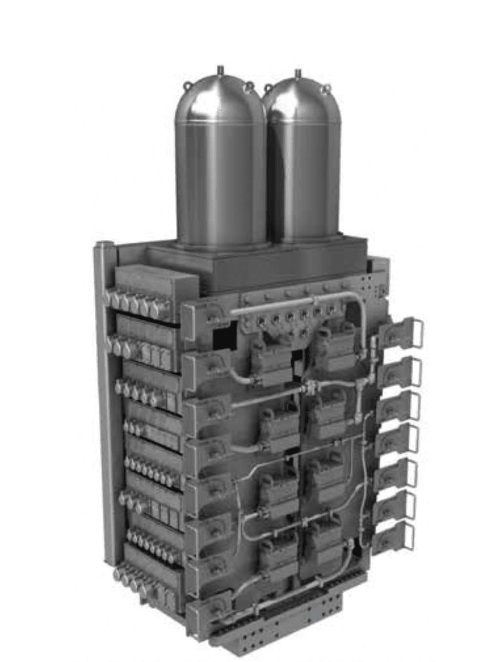 General Electric's SeaPrime blowout preventer (BOP) control system. Courtesy of GE.