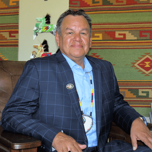 Ken Hall, executive secretary, Three Affiliated Tribes, and chairman, Missouri River Resources, the tribally owned oil and gas company.