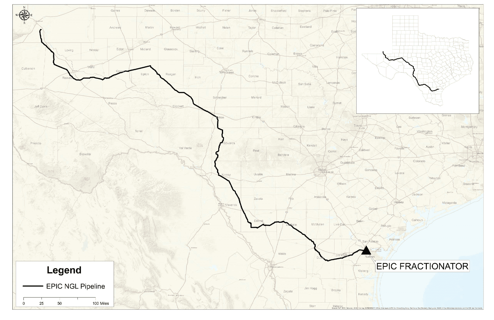 Epic Pipeline Announces Capacity Agreement With BP Energy Company For New 650-Mile NGL Pipeline From The Permian Basin To Corpus Christi