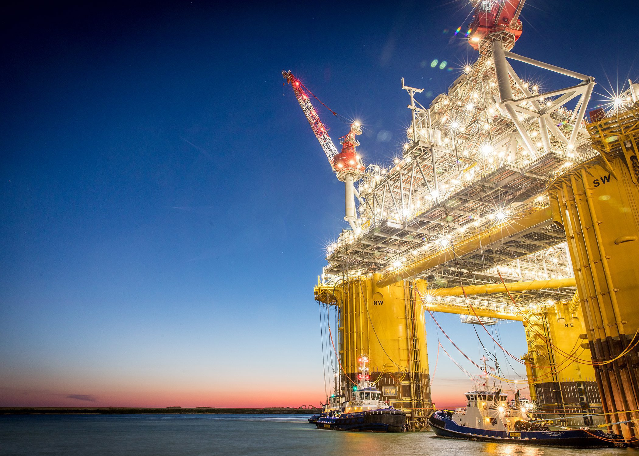 Danos Wins Shell Contract