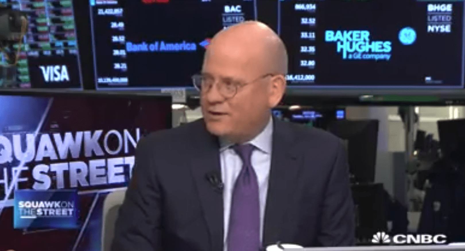 GE Chairman and CEO John Flannery Speaks with CNBC's David Faber
