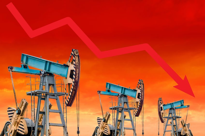 Oil prices drop amid market uncertainty