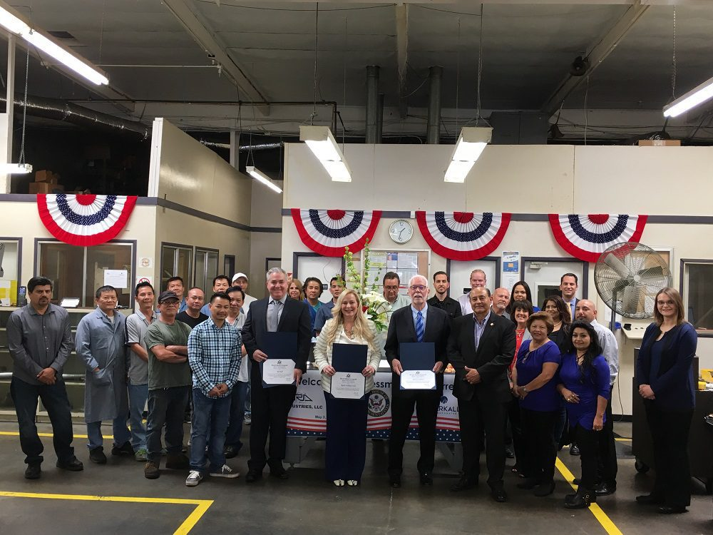 U.S. House Rep. Lou Correa Tours Long Term Orange County Manufacturer And Supplier To Oil And Gas Industry