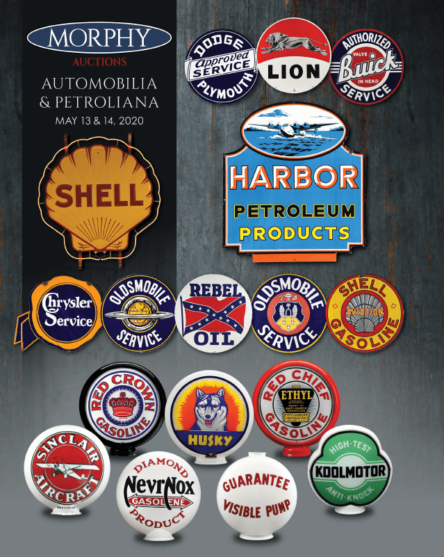 Morphy's Rolls Out Premium-Grade Advertising Signs, Gas Pumps and Globes for May 13-14 Automobilia & Petroliana Auction