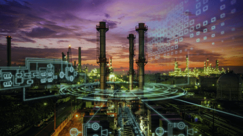 Digitalization of the oil and gas industry. Photo courtesy of Siemens