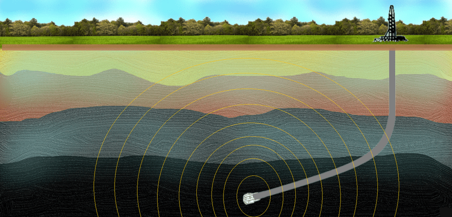 Electromagnetic (EM) signal propagation from downhole MWD tool to the surface