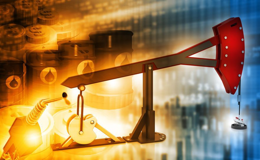 Oil prices show strength