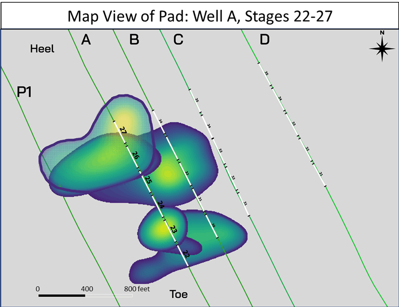 Figure 2: Map-view image of results