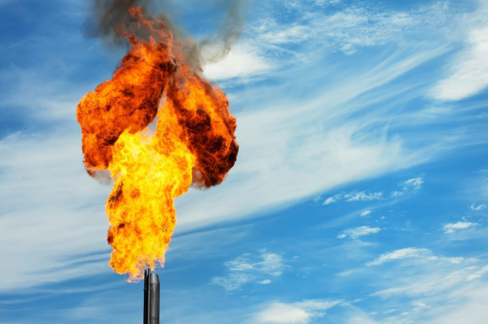 The Fate of Flaring