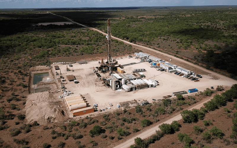 Operations Drill Rig. Photo courtesy of USEDC.