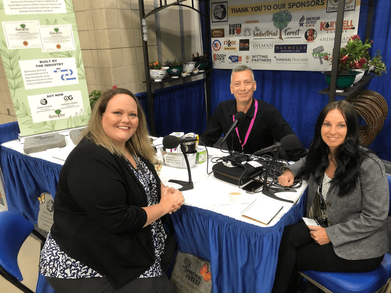 Ashley Smith, Truckers Against Trafficking, interviewed by Jason Spiess and Shawn Forbes at the Williston Basin Petroleum Conference.